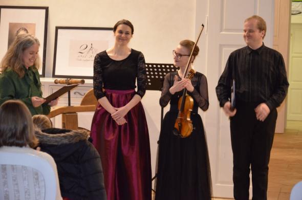 Nádherný Adventný koncert v Nyáryovskej kúrii